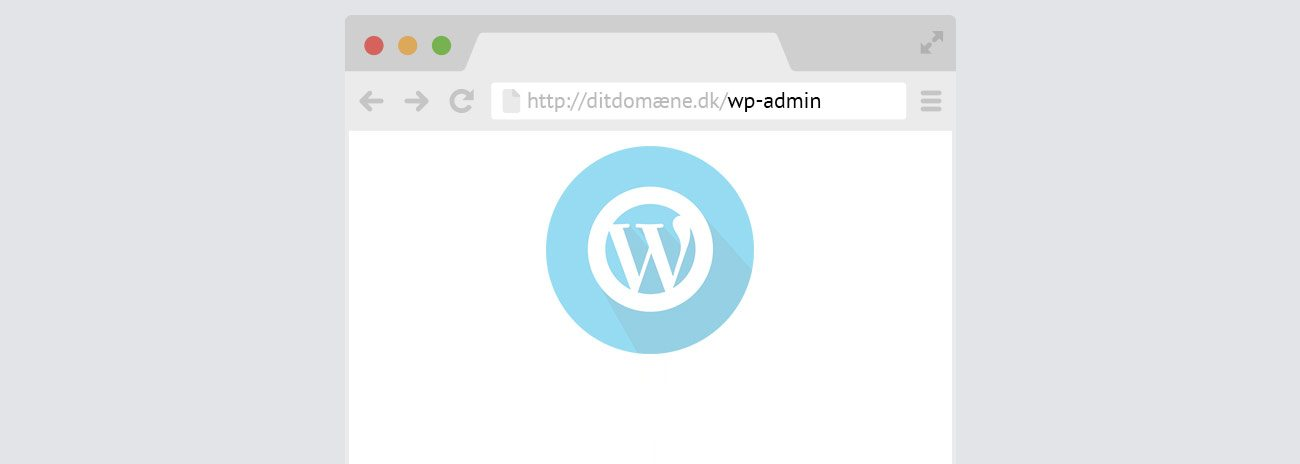 WordPress login – Find dit WordPress login