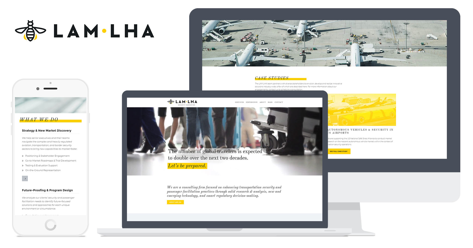 lam lha website design